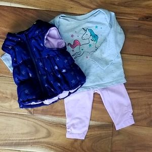 Baby girl winter outfit